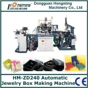 Automatic Rigid Box Making Machine for Jewelry Box (HM-ZD240)