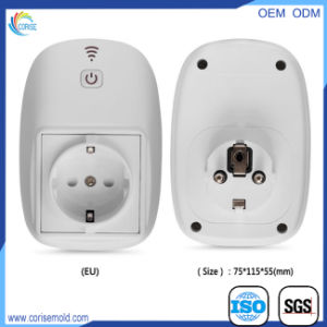 European Standard Type PC White Electric Wall Socket Shell pictures & photos