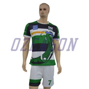 Custom Made Rugby Uniform, High Quality Sublimation Quick Dry Rugby Jersey & Shorts pictures & photos