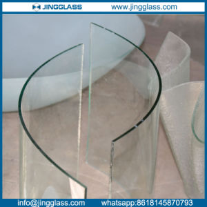 3-19mm Clear Hot Curved Glass for Bended Structure pictures & photos