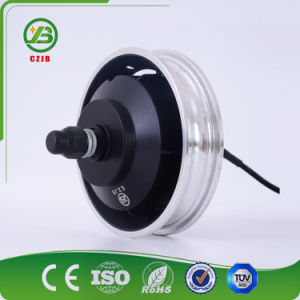 10 Inch Geared BLDC Electric Scooter Motor 48V 350W pictures & photos
