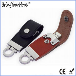 Leather USB Flash Memory 8GB (XH-USB-002) pictures & photos