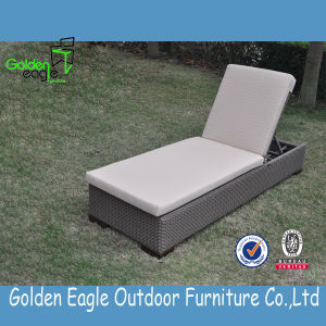 Rattan Aluminum Outdoor Garden Sunlounger pictures & photos