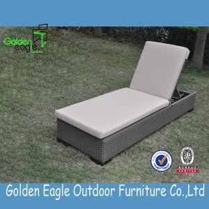 Rattan Aluminum Outdoor Garden Sunlounger