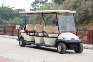 Hot Sale Cheap 8 Passengers Electric Tourist Car pictures & photos