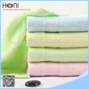 China Supplier High Quality Satin Terry Face Towel pictures & photos
