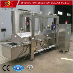 Kfc Chicken Frying Machine Automatic Continuous Fryer with Certificate