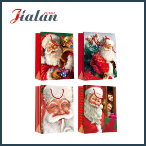 Lovely 2016 Holiday Gift Custom Cheap Paper Boutique Christmas Bag pictures & photos