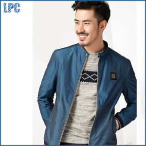 Factory Custom Made Nylon Men Jacket for Fashion Clothes by China pictures & photos