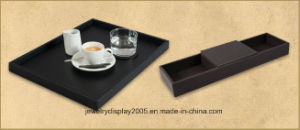 Customized Wooden PU Finished Jewelry Display Tray pictures & photos