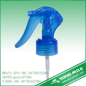 28/410 Transparent Blue Mini Trigger Spray Pump pictures & photos