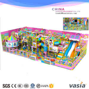 Candy Theme Children Sofy Indoor Playground for Sale pictures & photos