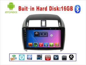 Android System Car DVD Player for Toyota Corolla 10.1 Inch Touch Screen with GPS/Bluetooth/TV pictures & photos