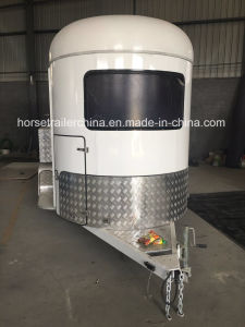 Two Horse Straight Load Horse Trailer/Trave Trailer/Trailer for Horse pictures & photos
