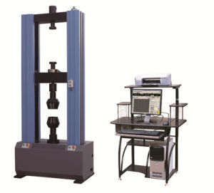 Max Force 300kn Double Column Digital Tensile Strength Test Machine pictures & photos