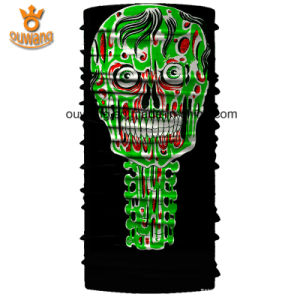 Customized Logo Skull Printed Seamless Tube Bandana pictures & photos