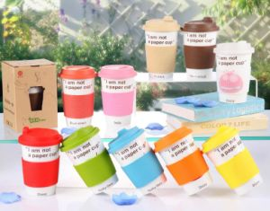 LFGB Grade Silicone Rubber Cup Lid pictures & photos