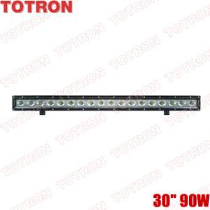 "TOTRON Super bright 30"" single row Cree LED off road light bar for ATV,SUV,UTV,4X4 pictures & photos"