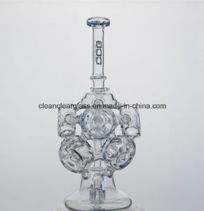 Wholesale Amazing Hydrangea Shaped Glas Water Pipe Smoking Pipe Recycler pictures & photos