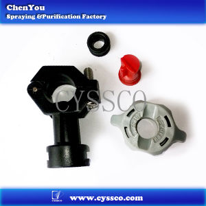 Plastic Clamp Spray Nozzle Tip