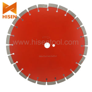 Diamond Laser Welded Saw Blade for Asphalt pictures & photos