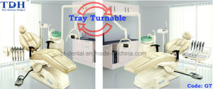 Tray Left & Right Turnable CE Dental Chair (TDH-G7) pictures & photos