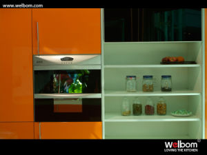Welbom Modern High Gloss Kitchen Cabinet pictures & photos