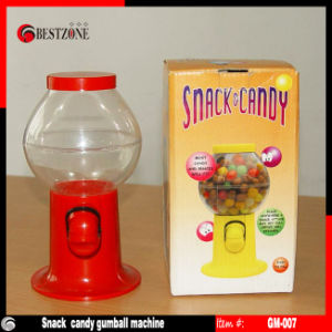 Plastic Candy Gumball Vending Machine pictures & photos