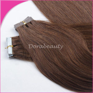 Brazilian Remy Hair Tape Hair Extension pictures & photos