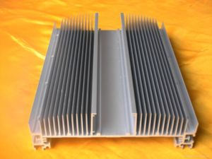 Anodized 6063t5 Aluminum Extrusion Profiles with ISO 9001 in China
