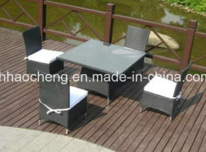 PE Rattan Outdoor Dining Furniture Set/Dining Table/Dining Chair