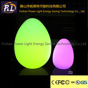 Rechargeable Multi-Color Table Lamp LED Egg Lamp pictures & photos
