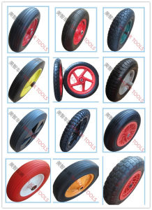 Puncture Proof Polyurethane Tool Cart Wheels 2.80/2.50-4 pictures & photos