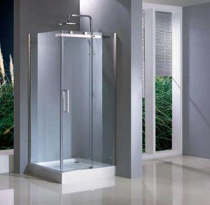 Rectangular Big Stainless Steel Wheels Shower Enclosure&Shower Room (HC139)