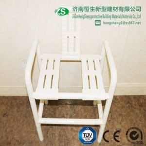 Bathroom Safety Wall Mounted Nylon Shower Seat for Elderly pictures & photos