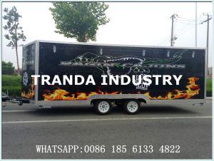 Ce Fast Food Caravan Mobile Shop Trailer pictures & photos