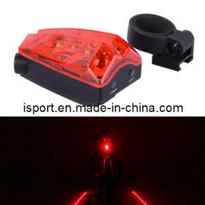 Factory Price Bike Light with Warming Laser