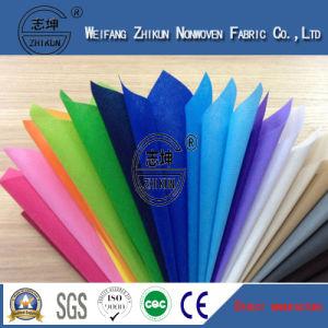Colorful 100% Polyester Spun-Bond Non Woven Fabric for Shopping Bag pictures & photos