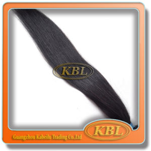 Hair Weft Brazilian Jet Black Straight Hair pictures & photos