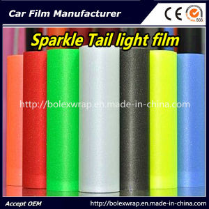 Sparkle Shining Car Light Film/ Headligh Film/Tail Light Tint Tail Lamp Film 0.3*9m pictures & photos