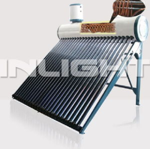 Pressurized Copper Coil Solar Water Heater (Inlight) pictures & photos