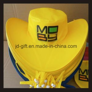 Full Color Printing Cowboy Foldable Hat pictures & photos