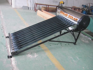 etc 304 Grade Stainless Steelsolar Water Heater, Ce, High Quality pictures & photos
