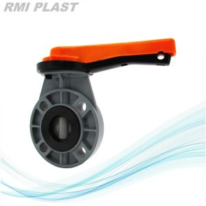 Lug Plastic PVC Butterfly Valve by ANSI pictures & photos