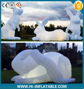 Best Selling Inflatable Rabbit Cartoon for Outdoor Decoration, Advertising