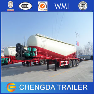 30cbm Cement Bulker Tanker, Cement Tanker, Bulk Cement Trailer 50ton pictures & photos