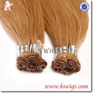 Highest Quality Brazilian Virgin Hair Hand Tie Human Hair pictures & photos