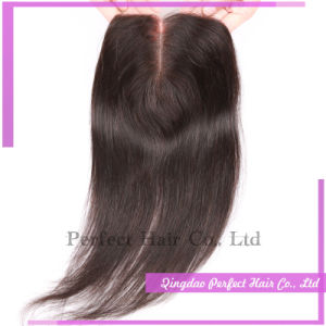 Virgin Malaysian Bleached Knots Lace Closure pictures & photos