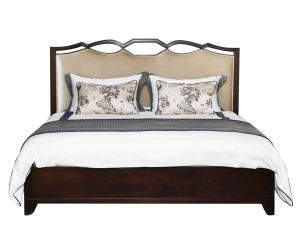 Contemporary Solid Wood Bed Era 1.5