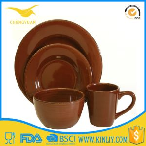 Ce FDA Certificated Eco-Friendly Custom Melamine Restaurant Meal Dinner Set pictures & photos